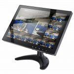 10.1 Pouces CCTV Moniteur IPS LCD HD Couleur Écran 1280x800 Large Angle De Visionnement avec AV/VGA / HDMI/BNC / AUX/Audio Ports Haut-Parleur intégré, pour caméra de Surveillance de sécurité de la marque WHOLEV image 1 produit