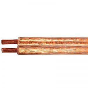 10m Câble de haut-parleur 2x2,5mm² OFC rond transparent marquage de longueur, Model 4638 de la marque M&G Techno® image 0 produit