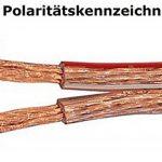 10m Câble de haut-parleur 2x2,5mm² OFC rond transparent marquage de longueur, Model 4638 de la marque M&G Techno® image 1 produit