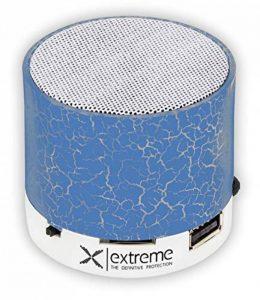 3.0 Bluetooth Mini Haut-Parleur Portable pour Carte Micro SD Adaptateur FM Radio USB Adapté aux Tailles de Voyage Basses LED Bleu de la marque LLB image 0 produit