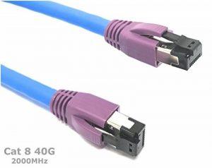 3M Cat 8 - Câble Ethernet 2000 MHz 40G | Compatible avec CAT 5 / CAT 5e / CAT 6 / CAT6 a / CAT 7 / CAT 7A / CAT 7A + de la marque Reulin image 0 produit