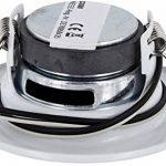 4Pack–Haut-parleur encastrable Mini Métal Haut-parleur de plafond–Halogène design–Blanc de la marque HAVA image 2 produit