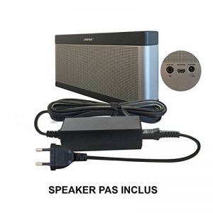 ABC Products® Remplacement Bose 17V - 20V, (17-20 Volt) Adaptateur Secteur Pile/Batterie Mur Chargeur Cable pour SoundLink I, II, III, 1, 2, 3 Wireless Bluetooth Enceinte Portable/Speaker etc de la marque ABC Products image 0 produit