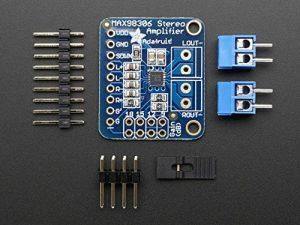 Adafruit Stereo 3.7W Class D Audio Amplifier - MAX98306 [ADA987] de la marque Adafruit image 0 produit