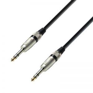Adam Hall Cables K3BVV0150 Série 3 Star Câble Audio Jack 6,35 mm stéréo vers Jack 6,35 mm stéréo 1,5 m de la marque Adam Hall image 0 produit