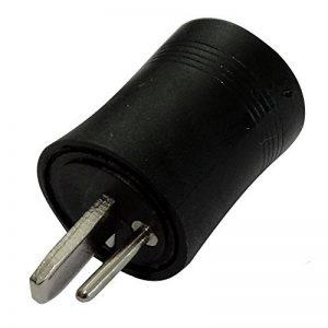 AERZETIX: 5x fiche connecteur DIN 2pins broches mâle pour enceintes haut-parleurs C19574 de la marque AERZETIX image 0 produit