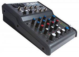 Alesis - MultiMix4 USB FX - Table de Mixage Analogique 4 Voies avec Effets, Interface Audio USB et Logiciel Cubase LE Inclus - Noir de la marque Alesis image 0 produit