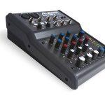 Alesis - MultiMix4 USB FX - Table de Mixage Analogique 4 Voies avec Effets, Interface Audio USB et Logiciel Cubase LE Inclus - Noir de la marque Alesis image 4 produit
