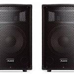 Alesis PA System In A Box Bundle - Système de Sonorisation Complet avec Mixer 4 Voies 280W, 2 Haut-Parleurs avec support, Microphone et Câbles de la marque Alesis image 2 produit