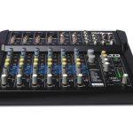 ALTO Professional ZMX122 FX - Table de Mixage Compacte 8 Voies avec Entrée XLR, Effets, EQ et Aux In/Out de la marque ALTO Professional image 1 produit
