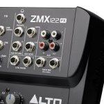 ALTO Professional ZMX122 FX - Table de Mixage Compacte 8 Voies avec Entrée XLR, Effets, EQ et Aux In/Out de la marque ALTO Professional image 3 produit