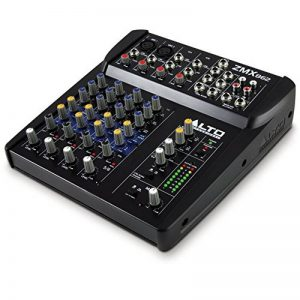ALTO Professional ZMX862 - Table de Mixage Compacte 6 Voies avec Entrée XLR, EQ et Aux In/Out de la marque ALTO Professional image 0 produit