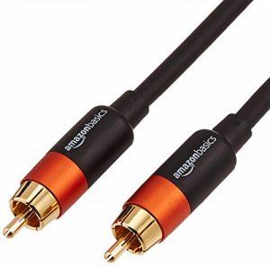 AmazonBasics Câble audio numérique coaxial - 2,5 m de la marque AmazonBasics image 0 produit