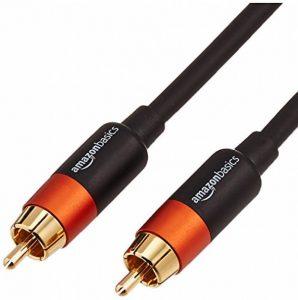 AmazonBasics Câble audio numérique coaxial - 4,6 m de la marque AmazonBasics image 0 produit