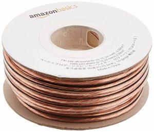 AmazonBasics Câble audio pour haut parleur Calibre 14 Section 2,08 mm² Longueur 15 m de la marque AmazonBasics image 0 produit