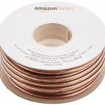 AmazonBasics Câble audio pour haut parleur Calibre 14 Section 2,08 mm² Longueur 15 m de la marque AmazonBasics image 1 produit