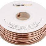 AmazonBasics Câble audio pour haut parleur Calibre 14 Section 2,08 mm² Longueur 30 m de la marque AmazonBasics image 1 produit