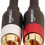 AmazonBasics Câble audio RCA 2 mâles vers 2 mâles - 1,2 m de la marque AmazonBasics image 1 produit