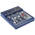 ammoon Console de Mixage Table de Mixage 3 Canaux Mic Ligne Numérique Audio Mixeur F4-USB avec 48V Alimentation pour Enregistrement DJ Karaoké de la marque image 4 produit