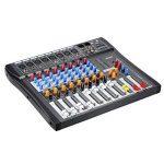 ammoon Console de Mixage Table de Mixage 8 Canaux Ligne de Micro Numérique Mixage Audio CT80S-USB avec Alimentation Fantôme 48V pour Enregistrement DJ Scène Karaoké de la marque ammoon image 1 produit