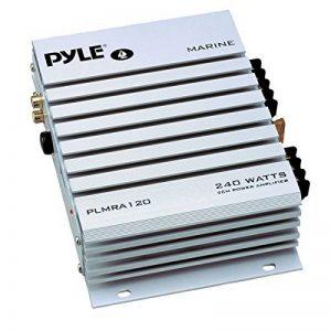 Amplificateur Pyle étanche avec 2 canaux et une puissance de 240 Watts. Idéal pour bateau, scooter de mer etc. de la marque Pyle image 0 produit
