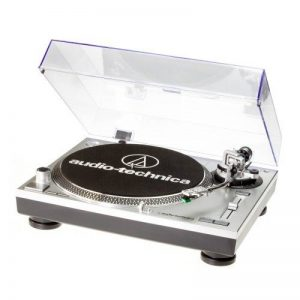Audio-Technica AT-LP120USBHC Platine vinyle USB à entraînement direct Argent de la marque Audio-Technica image 0 produit