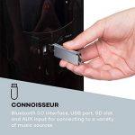 Auna Areal Nobility Système Surround 5.1 • Système Home Cinema • 120W RMS • 35W Subwoofer • Enceintes Satellites • Bluetooth 3.0 • Ports USB/SD • AUX-in • Noir de la marque Auna image 2 produit