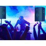 """Auna Cube 1812 Set de sonorisation Actif 2.1 1600W Puissance Totale 46cm (18"""") Subwoofer 2X Enceintes 30cm (12"""") Technologie bi-Amplification écho contrôle Basses et aigus Noir de la marque Auna image 1 produit"""