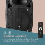 """auna Streetstar 10 • Système de sonorisation Mobile • Subwoofer 10"""" (25,5 cm) • 400W • Bluetooth • Port USB • SD • MP3 • AUX • Batterie 3 Ah • Noir de la marque Auna image 2 produit"""