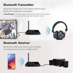 Avantree [Version Premium] Oasis Plus aptX HD Longue PORTEE Transmetteur Récepteur Bluetooth Audio pour TV, HiFi, Optique Filaire & sans-Fil Simultanée, Dual Link Low Latency [Garantie 2ANS] de la marque Avantree image 1 produit