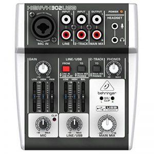 Behringer 302USB Console de mixage 5 entrées avec port USB de la marque Behringer image 0 produit