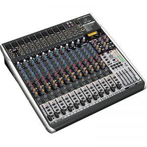 Behringer QX2442USB Premium Table de mixage 24-Entrées 4/2-Bus avec Préamplis Micro Xenyx Compresseur de la marque Behringer image 0 produit