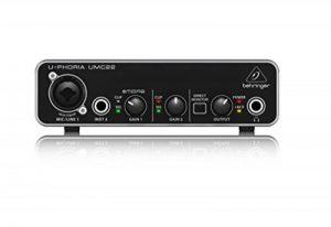 Behringer UMC22 U-Phoria Interface audio USB 2.0 2 entrées / 2 sorties de la marque Behringer image 0 produit