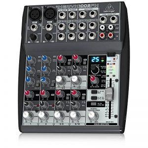 Behringer XENYX 1002FX Table de mixage 10 canaux Stéréo FX Processeur 24-bit de la marque Behringer image 0 produit