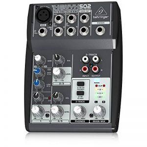 Behringer XENYX 502 Table de mixage Egaliseur bi-bande 2 Entrées micro 550 g de la marque Behringer image 0 produit