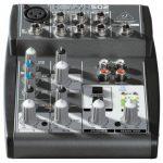 Behringer XENYX 502 Table de mixage Egaliseur bi-bande 2 Entrées micro 550 g de la marque Behringer image 1 produit