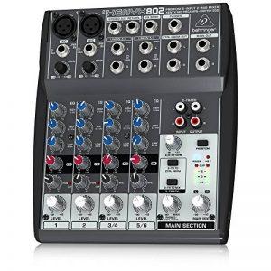 Behringer XENYX 802 Table de mixage Egaliseur tri-bande 2 Entrées micro 1000 g de la marque Behringer image 0 produit