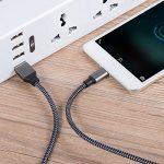 Cable Micro USB Chargeur Samsung - [Lot de 3, 2M] en Nylon Tressé Cable Micro USB Chargeur pour Samsung, Nexus, LG, Huawei, Smartphones Android et plus (Carbone et Noir) de la marque Xcords image 4 produit