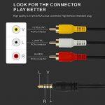 câble audio rouge et blanc TOP 10 image 3 produit