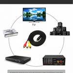 câble audio rouge et blanc TOP 10 image 4 produit