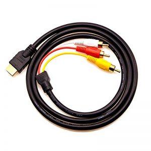 câble audio rouge et blanc TOP 11 image 0 produit