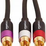 câble audio rouge et blanc TOP 4 image 1 produit