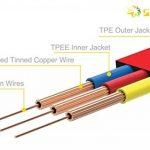 Câble audio stéréo - Connecteurs Jack 3,5 mm Mâles - Cordon PVC souple - Longueur 1m - Couleur : rouge de la marque Act image 2 produit