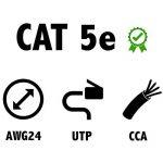 câble cat 5e TOP 9 image 1 produit