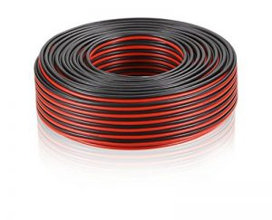 Câble de haut-parleur MANAX® 2 x 2,50 mm² rouge / noir 20,0 m de la marque MANAX image 0 produit