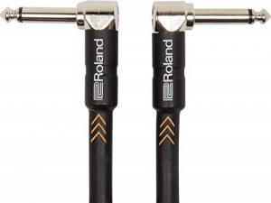 Câble de pédale/patch gamme Black Roland - Connecteurs coudés en jack 1/4 de pouce, 1 m - RIC-B3AA de la marque Inconnu image 0 produit