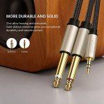 câble double jack TOP 4 image 1 produit