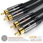 câble double rca TOP 10 image 1 produit