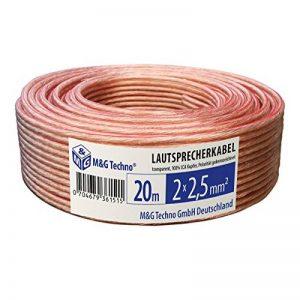 câble enceinte 20m TOP 2 image 0 produit