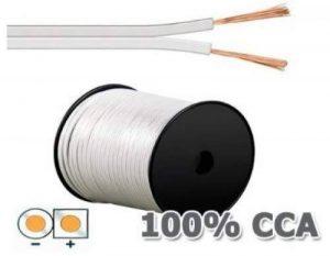 câble enceinte blanc TOP 1 image 0 produit